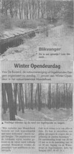 Winter Opendeurdag Mandelhoek
